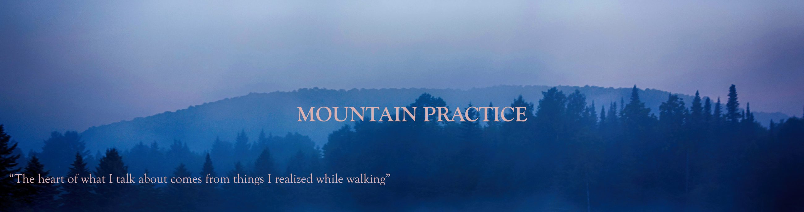 Mountain Practice